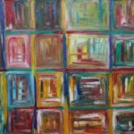 Abstrakte Malerei - www.atelier-teltow.de - Titel: Boradur