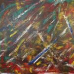Abstrakte Malerei - www.atelier-teltow.de - Titel: Cratchit