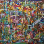 Abstrakte Malerei - www.atelier-teltow.de - Titel: Deanna