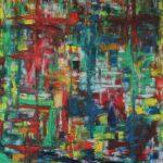 Abstrakte Malerei - www.atelier-teltow.de - Titel: Dukat
