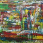 Abstrakte Malerei - www.atelier-teltow.de - Titel: Hepcat Helm