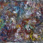 Abstrakte Malerei - www.atelier-teltow.de - Titel: Odo