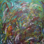 Abstrakte Malerei - www.atelier-teltow.de - Titel: Opee & Sando