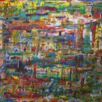 Abstrakte Malerei - www.atelier-teltow.de - Titel: Otoh Gunga