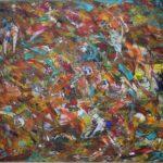 Abstrakte Malerei - www.atelier-teltow.de - Titel: Quarrel