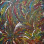 Abstrakte Malerei - www.atelier-teltow.de - Titel: Worf