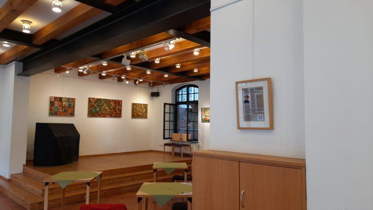 Ausstellungsraum im Bürgerhaus